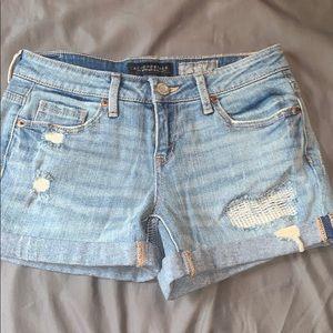 4 pair high rise shorts